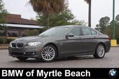 Used 2015 BMW 528i Sedan WBA5A5C50FD520625 Myrtle Beach South Caroling