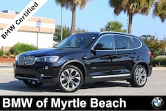 Certified Pre-Owned 2017 BMW X3 xDrive28i SAV 7058 Myrtle Beach South Carolia