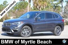 Certified Pre-Owned 2017 BMW X1 xDrive28i SAV 7561 Myrtle Beach South Carolia