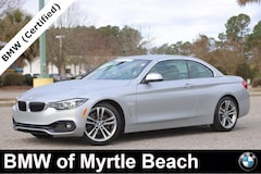 Certified Pre-Owned 2019 BMW 430i Convertible 21122A Myrtle Beach South Carolia