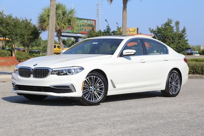 New 2019 BMW 530i Sedan In Myrtle Beach