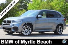 Certified Pre-Owned 2017 BMW X5 xDrive35i SAV 21582A Myrtle Beach South Carolia