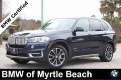 Certified Pre-Owned 2017 BMW X5 xDrive35i SAV 7139 Myrtle Beach South Carolia