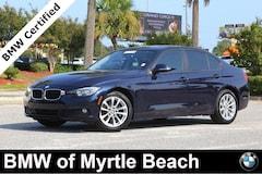 Used 2016 BMW 320i Sedan WBA8E1G53GNT33752 Myrtle Beach South Carolina