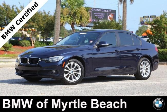 Certified Used 2016 BMW 320i Sedan In Myrtle Beach