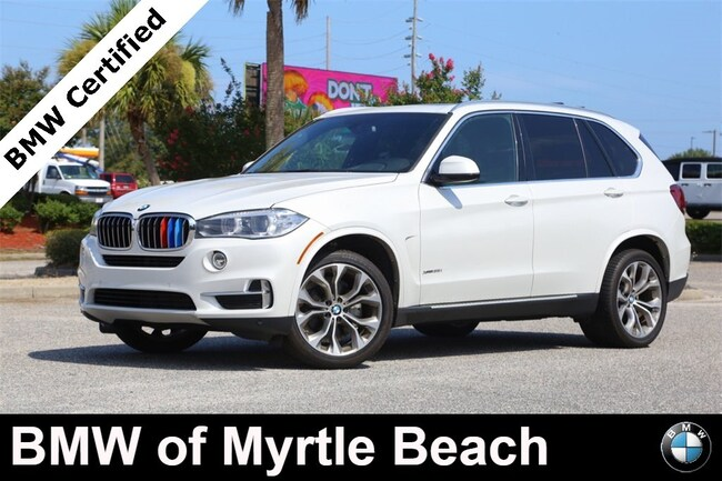 Certified Used 2017 BMW X5 xDrive35i SAV In Myrtle Beach