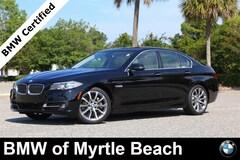 Certified Pre-Owned 2016 BMW 535i Sedan 6960 Myrtle Beach South Carolia