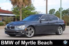 Used 2016 BMW 328i w/SULEV Sedan WBA8E9G58GNT43613 Myrtle Beach South Carolina