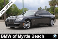 Certified Pre-Owned 2015 BMW 750i Li Sedan 19478A Myrtle Beach South Carolia