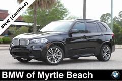 Certified Pre-Owned 2016 BMW X5 xDrive50i SAV 20541A Myrtle Beach South Carolia