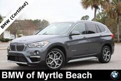 Certified Pre-Owned 2017 BMW X1 sDrive28i SAV 7186 Myrtle Beach South Carolia