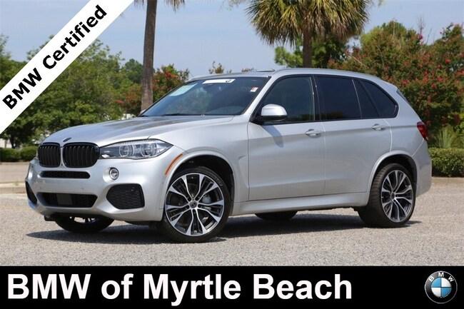 Certified Used 2018 BMW X5 xDrive50i SAV In Myrtle Beach