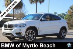 Certified Pre-Owned 2018 BMW X6 sDrive35i SAV 7550 Myrtle Beach South Carolia