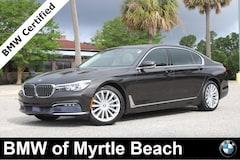 Certified Pre-Owned 2017 BMW 740i Sedan 7324 Myrtle Beach South Carolia