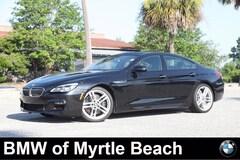 Used 2016 BMW 640i Gran Coupe WBA6D0C58GG432307 Myrtle Beach South Caroling