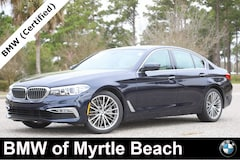 Used 2018 BMW 540i Sedan WBAJE5C5XJWA96096 Myrtle Beach South Caroling