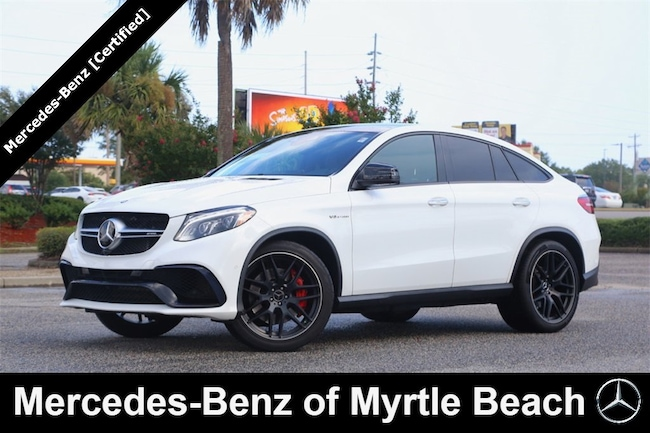 Certified Used 2017 Mercedes-Benz AMG GLE 63 4MATIC SUV In Myrtle Beach