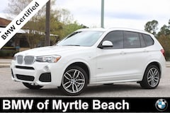 Certified Pre-Owned 2017 BMW X3 xDrive28i SAV 7264 Myrtle Beach South Carolia