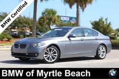 Certified Pre-Owned 2016 BMW 535i Sedan 7034 Myrtle Beach South Carolia