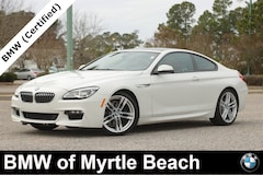Certified Pre-Owned 2017 BMW 640i Coupe 7530 Myrtle Beach South Carolia