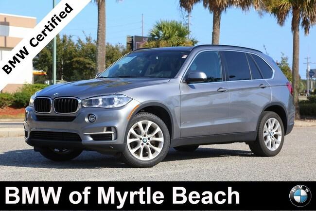 Certified Used 2016 BMW X5 xDrive35i SAV In Myrtle Beach