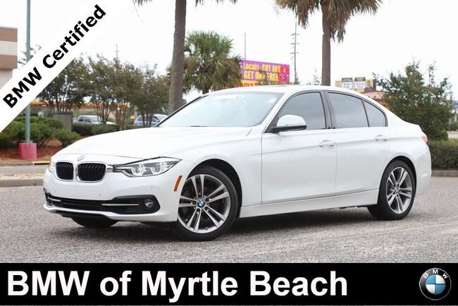 Certified Used 2017 BMW 330i Sedan In Myrtle Beach
