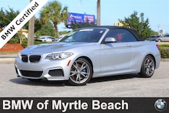 Certified Pre-Owned 2016 BMW M235i Convertible 19391D Myrtle Beach South Carolia