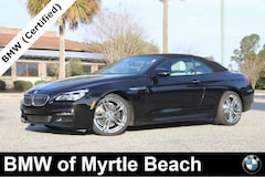 Certified Pre-Owned 2017 BMW 640i Convertible 7236 Myrtle Beach South Carolia