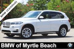 Certified Pre-Owned 2018 BMW X5 xDrive35i SAV 21753A Myrtle Beach South Carolia