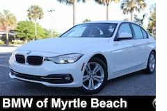 Used 2016 BMW 328i w/SULEV Sedan WBA8E9G59GNU27956 Myrtle Beach South Caroling