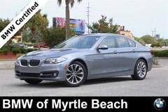 Certified Pre-Owned 2016 BMW 528i Sedan 7003 Myrtle Beach South Carolia