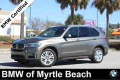 Certified Pre-Owned 2017 BMW X5 xDrive35i SAV 7257 Myrtle Beach South Carolia