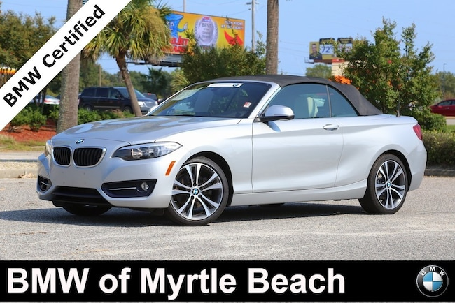 Certified Used 2016 BMW 228i xDrive Convertible In Myrtle Beach