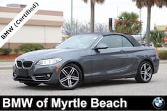 Certified Pre-Owned 2017 BMW 230i xDrive Convertible 7208 Myrtle Beach South Carolia