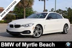 Certified Pre-Owned 2015 BMW 428i Convertible 6850A Myrtle Beach South Carolia