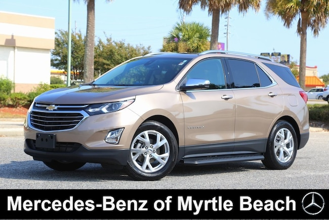 Used 2018 Chevrolet Equinox Premier w/3LZ SUV in Myrtle Beach