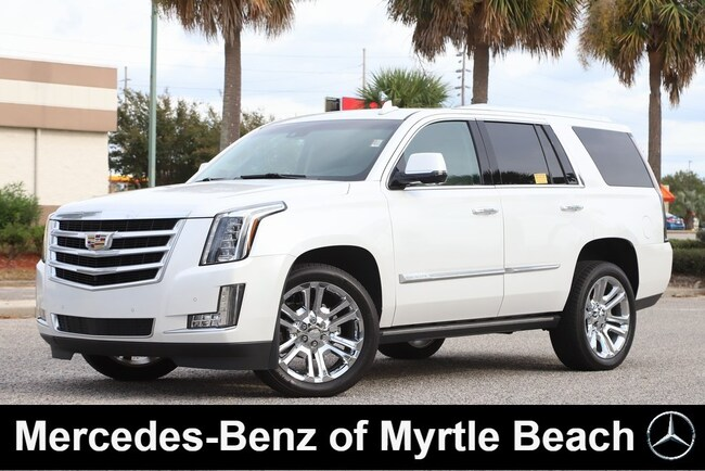 Used 2016 CADILLAC Escalade Premium Collection SUV in Myrtle Beach