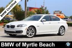 Certified Pre-Owned 2016 BMW 535i Sedan 6998 Myrtle Beach South Carolia