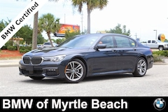 Certified Pre-Owned 2016 BMW 740 Sedan 6942 Myrtle Beach South Carolia