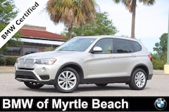 Certified Pre-Owned 2017 BMW X3 sDrive28i SAV 7410 Myrtle Beach South Carolia