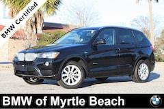 Certified Pre-Owned 2017 BMW X3 xDrive28i SAV 7130 Myrtle Beach South Carolia