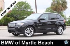Certified Pre-Owned 2017 BMW X3 xDrive28i SAV 7325 Myrtle Beach South Carolia