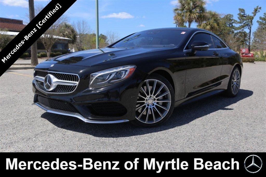 2016 Mercedes-Benz S-Class S 550 4MATIC Coupe Myrtle Beach South Carolina