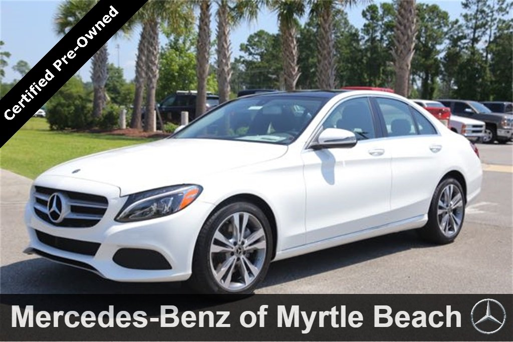 2018 Mercedes-Benz C-Class C 300 Sedan Myrtle Beach South Carolina