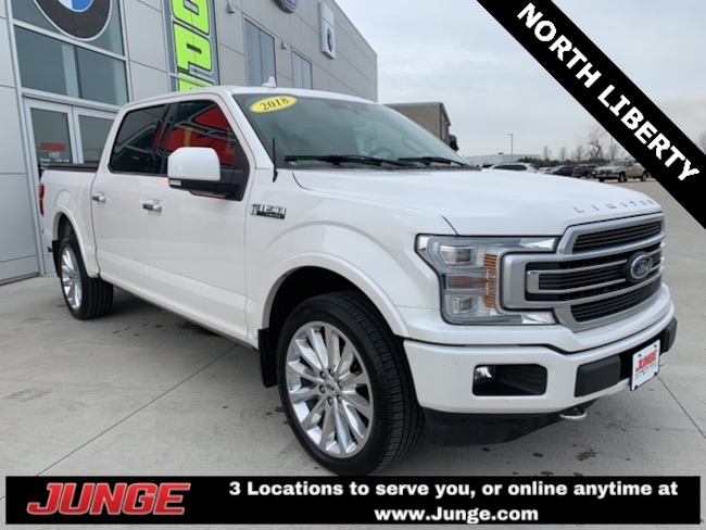 2018 Ford F-150 Limited w/EcoBoost Truck SuperCrew Cab