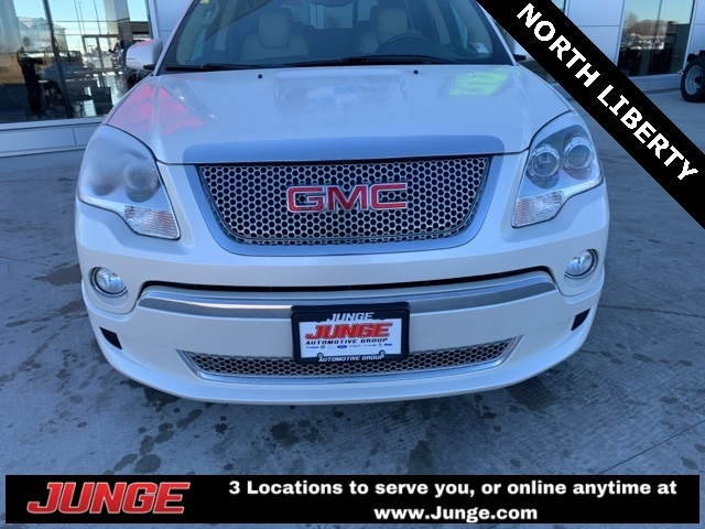 Used 2012 GMC Acadia Denali For Sale | Center Point IA | Near Cedar Rapids  & Independence IA | VIN: 1GKKVTED6CJ336195