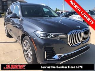 2019 BMW X7 xDrive50i SUV For Sale Near Cedar Rapids | Junge Automotive Group