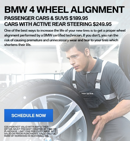 BMW 4 Wheel Alignment