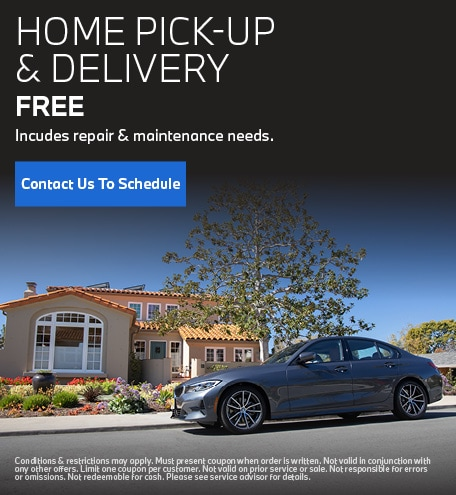 Free Home Pick-Up & Delivery