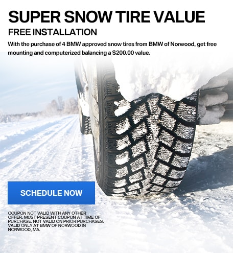 FREE INSTALLATION: SUPER SNOW TIRE VALUE